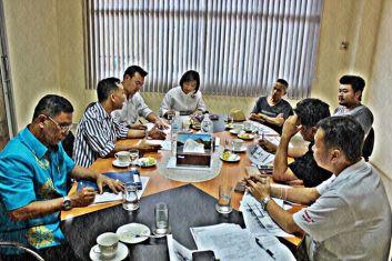 ประชุม เตรียมงาน กระบี่เบิกฟ้าอันดามัน 2556